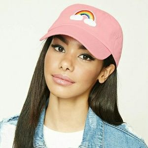 NWT Rainbow Patch Baseball Cap